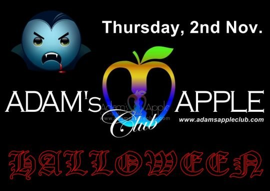 Halloween Adams Apple Club