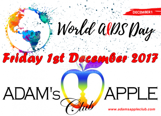 World Aids Day Adams Apple Club Chiang Mai
