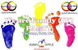 We are Family IV Adams Apple Club Chiang Mai
