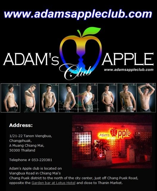 Adams Apple Club Chiang Mai Gay Bar