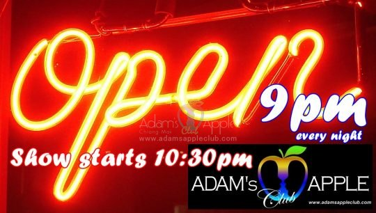 Adams Apple Club Go Go Bar opening hours