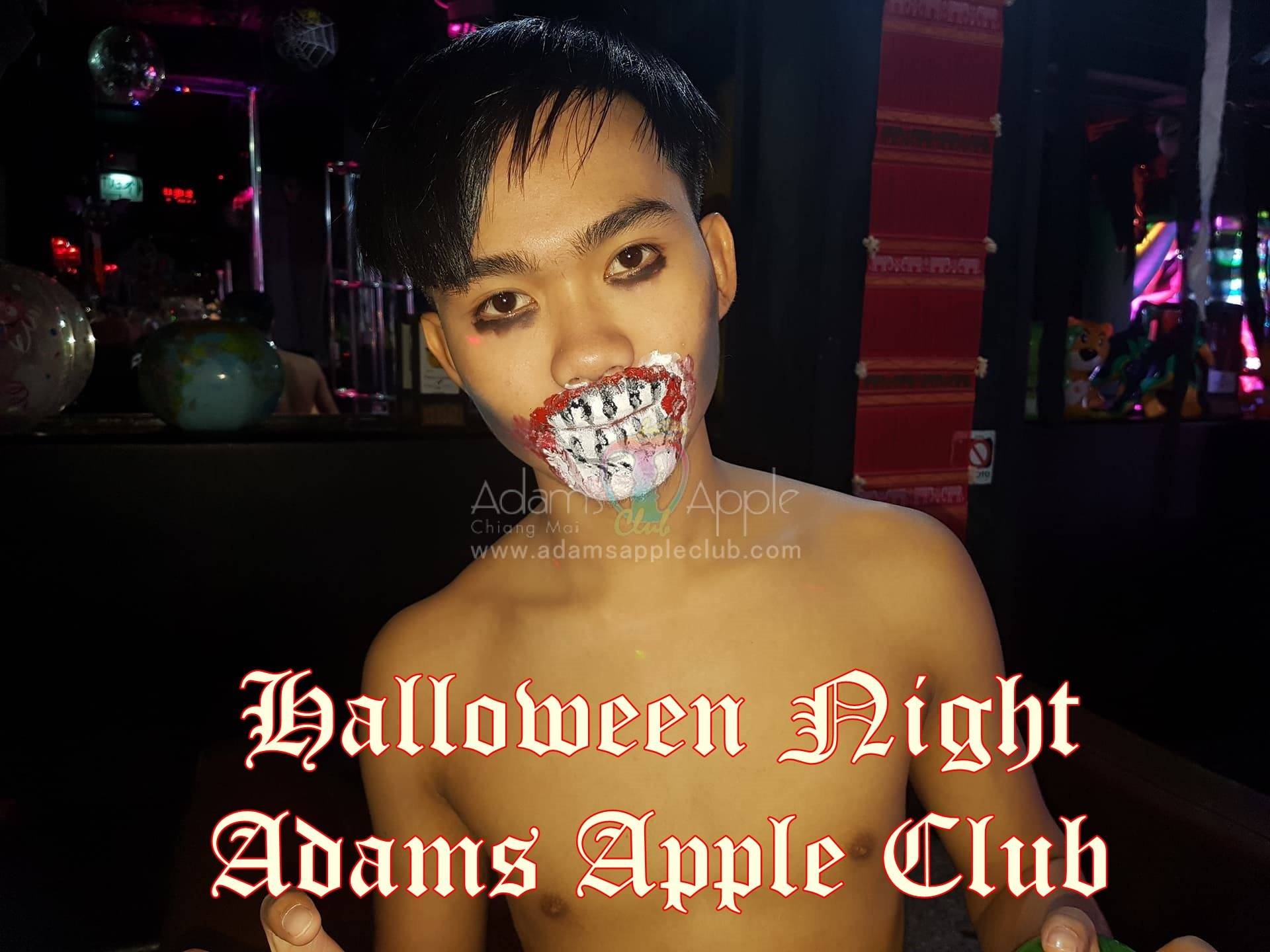 Adams Apple Club Chiang Mai HALLOWEEN Party