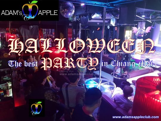 Best Halloween Party  2017 Adams Apple Club