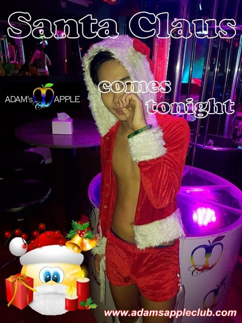 Santa Claus comes tonight to Adam's Apple Club Chiang Mai