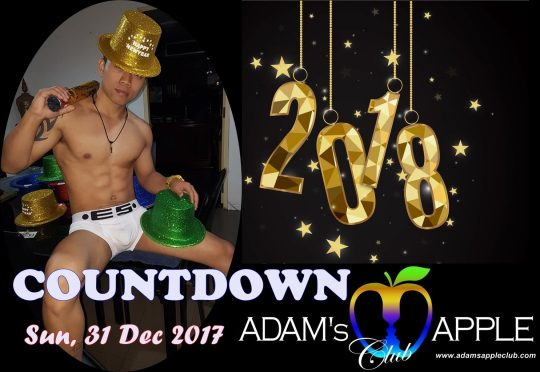 Countdown 2018 Adams Apple Club Chiang Mai