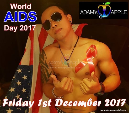 World-Aids-Day Adams Apple Club