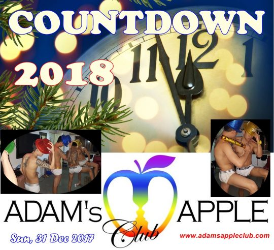 New Years Eve Party Adams Apple Club