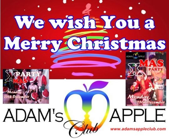 Merry-XMAS Adams Apple Club