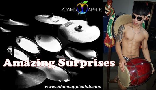 Amazing Surprises await you in Adam's Apple Club Chiang Mai