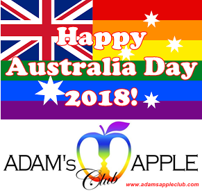 Adams Apple Club Happy Australia Day