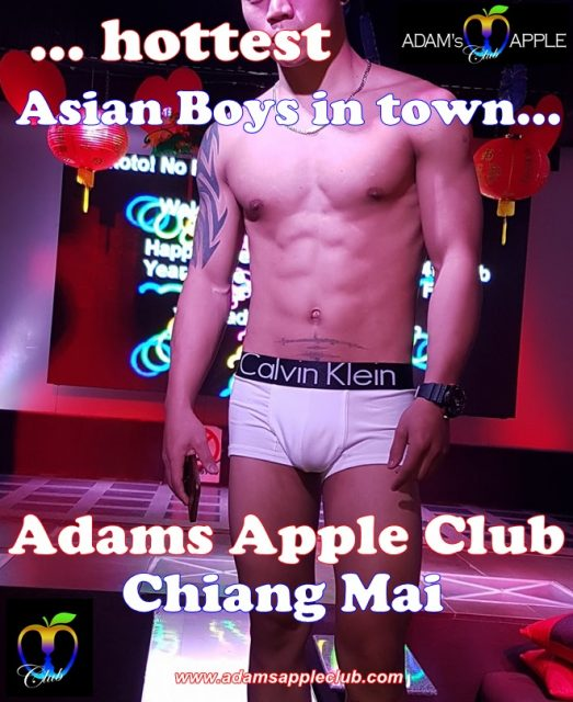 Adams Apple Club Hottest Asian Boys in Chiang Mai