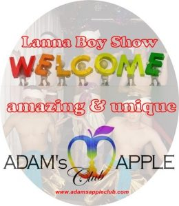Willkommen to Adam's Apple Gay Club Chiang Mai Host Bar