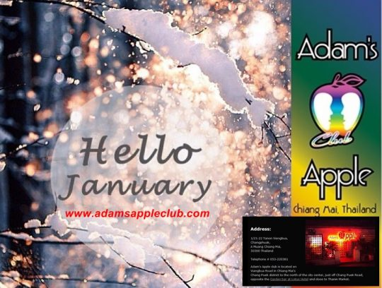 Welcome January Adams Apple Club