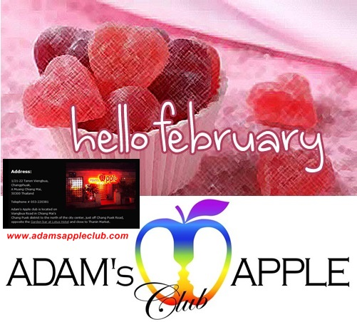 Hello February Adams Appel Club