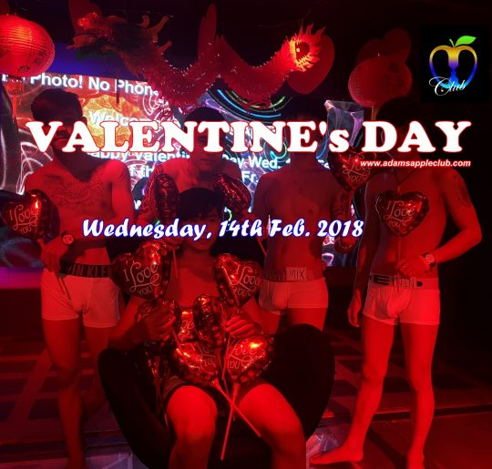 Adams Apple Club Chiang Mai Valentines Day