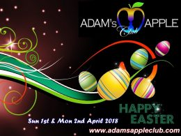 HAPPY EASTER Adams Apple Club Chiang Mai