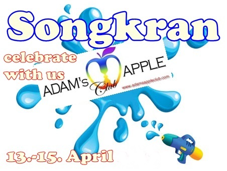 Songkran Adams Apple Club Chiang Mai