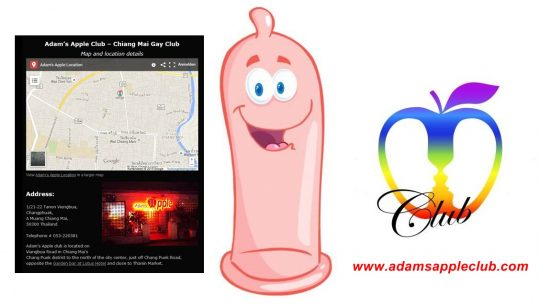 Adams Apple Club Chiang Mai Play Safe Condom