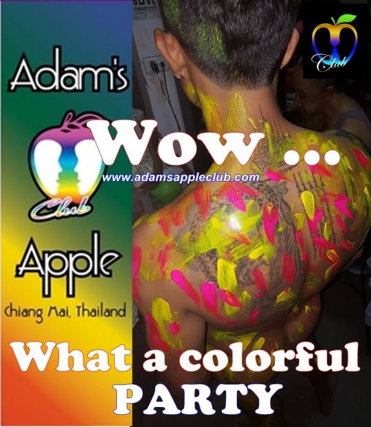 Adams Apple Club Chiang Mai colorful Boys