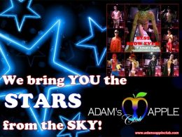 Adams Apple Club Chiang Mai stars from the sky