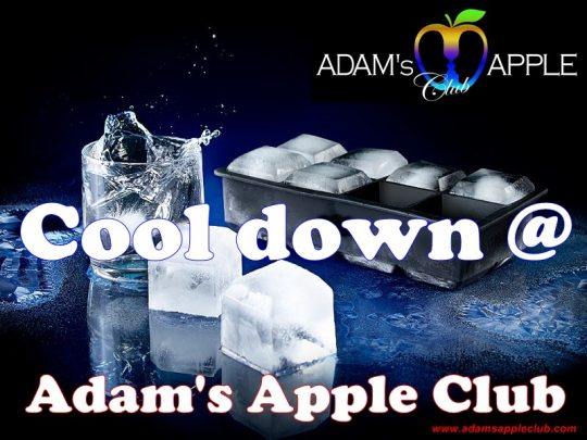 COOLING Cool down at Adam's Apple Club Chiang Mai
