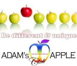 Be different & unique Adams Apple Club