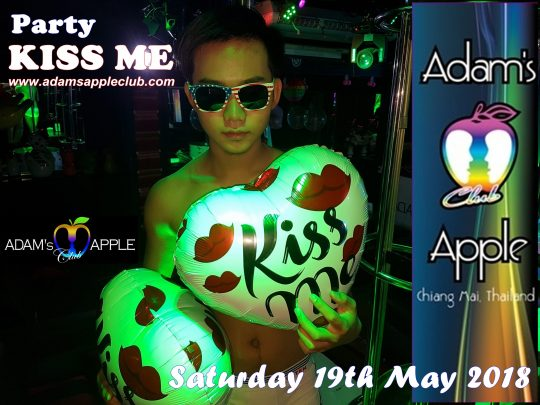 Adams Apple Club Chiang Mai Kiss Me Party