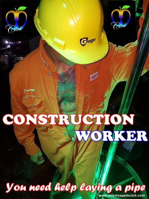Construction Worker Adams Apple Club Chiang Mai