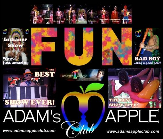 Adams Apple Club Fun Gay Life Chiang Mai