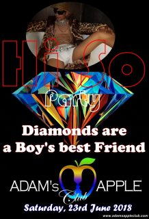 Hi-So Boys PARTY Adams Apple Club Chiang Mai