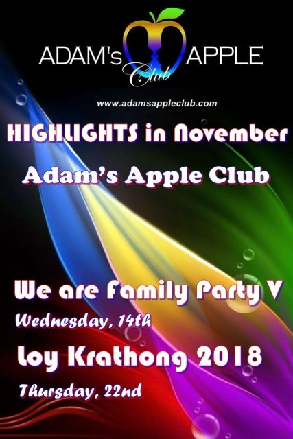 Highlights in November Adams Apple Club