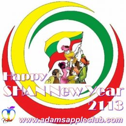 Happy Shan New Year 2018 Adams Apple Club