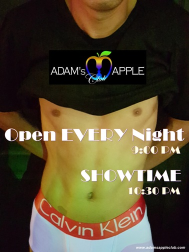 Adam's Apple Club + OPEN every Night