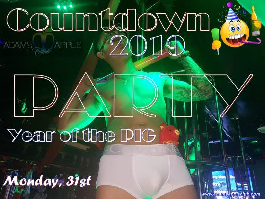 Countdown 2019 Adams Apple Club
