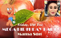 Happy Birthday Party Mama Sun 2018 Adam's Apple Club