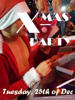 Ho Ho Ho ... X-MAS Party Adams Apple Club