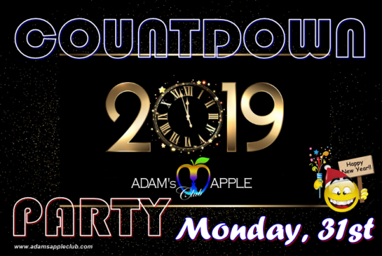 Countdown 2019 Adams Apple Club Chiang Mai