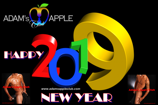 Happy New Year 2019 Adams Apple Club Chiang Mai