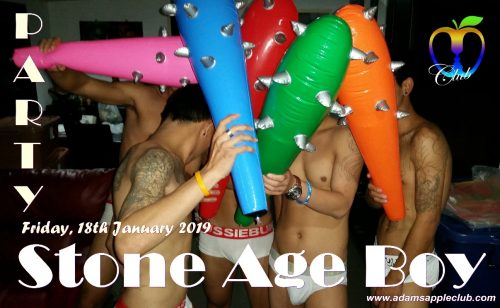 Stone Age Boy Party 2019 Adams Apple Club