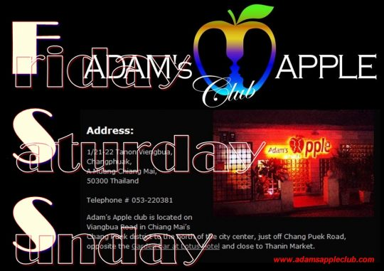 Adams Apple Club Weekend Chiang Mai