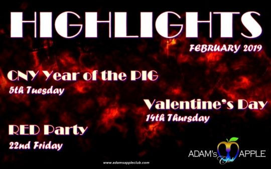 Highlights in February 2019 Adams Apple Club