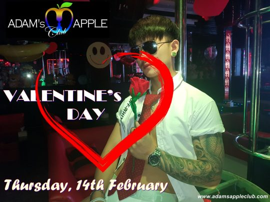 Valentine's Day 2019 @ Adam's Apple Club Chiang Mai