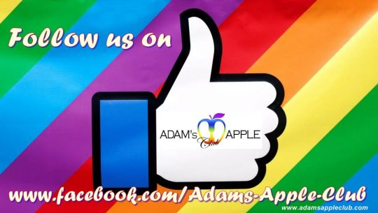 Follow us on Facebook Adams Apple Club
