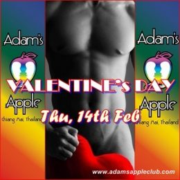 Valentine's Day Adams Apple Club Chiang Mai