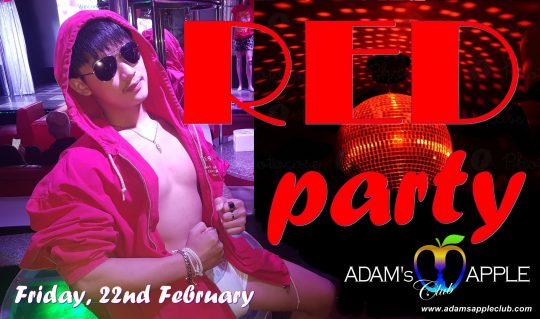 Red Party Adams Apple Club Host Bar Chiang Mai