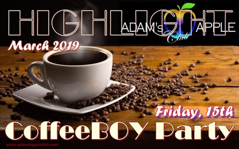 Highlight March 2019 CoffeeBOY Party Adams Apple Club Chiang Mai
