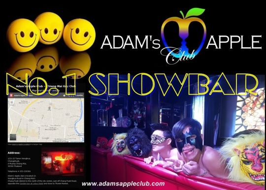 Best ShowBar in Chiang Mai Adams Apple Club