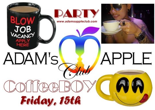 CoffeBoy Party Adams Apple Club Chiang Mai