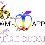 16. March Adams Apple Club we are closed