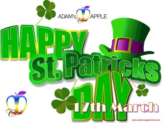 St. Patrick's Day Party 2019 @ Adam's Apple Club